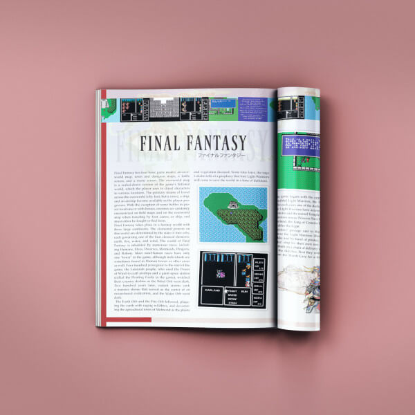 Video Game Magazine Design