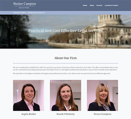 Becker Campion Web Design