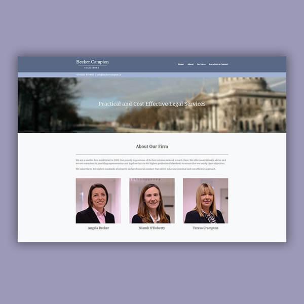Becker Campion Web Design