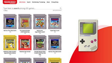 Game Boy Library